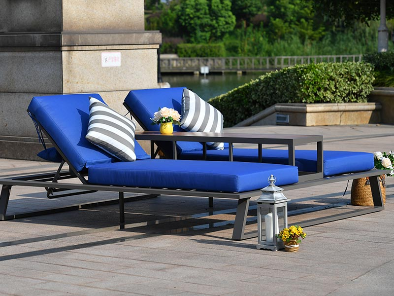 sun lounger chair set